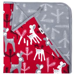 PaaPii Design trikoopeitto Bambi punainen