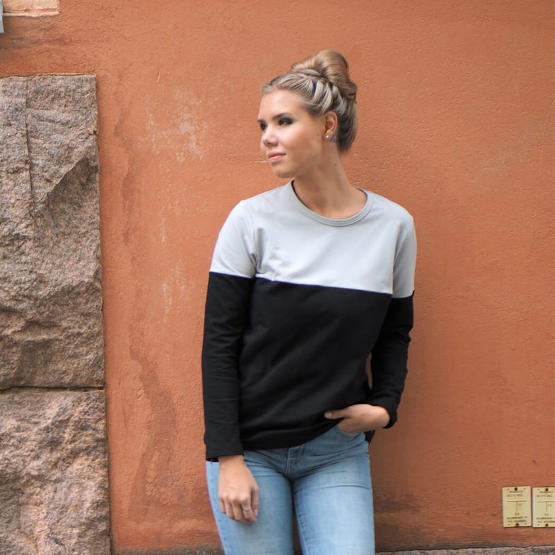 Kanto Design Sopiva paita harmaa lähi