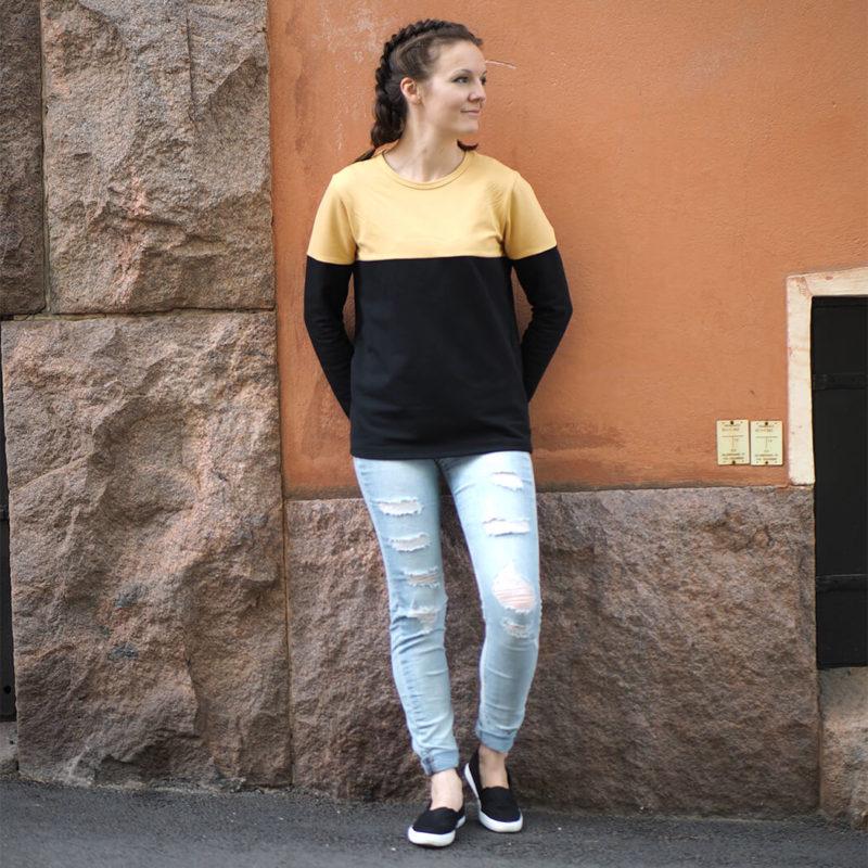 Kanto Design Sopiva paita keltainen