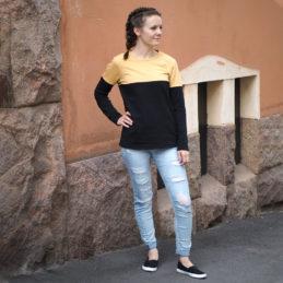 Kanto Design Sopiva paita keltainen sivu