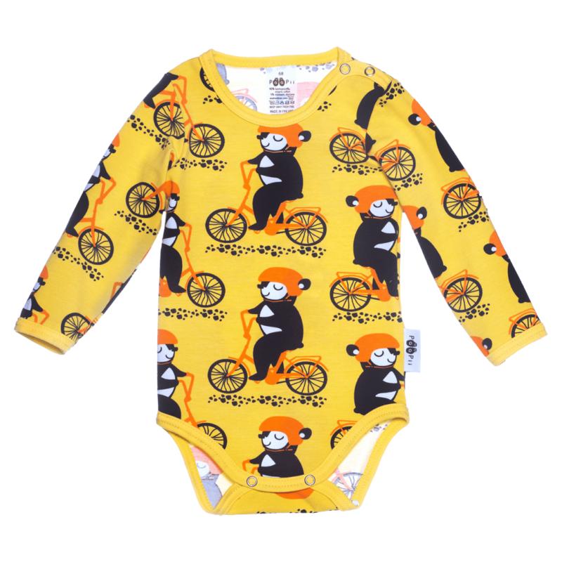 PaaPii Design Body Into pyöräilee keltainen-oranssi