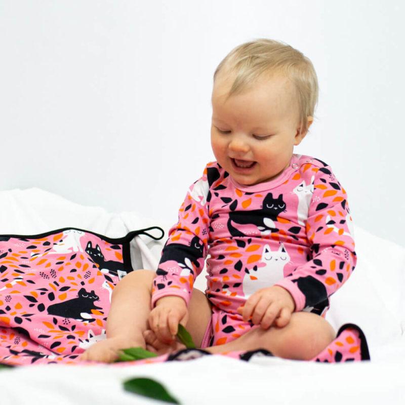 PaaPii Design Body Piilo vaaleanpunainen-oranssi edesta