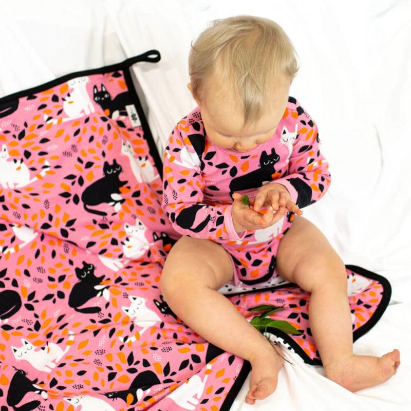 PaaPii Design Body Piilo vaaleanpunainen-oranssi ylä