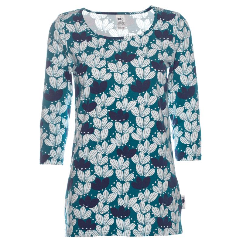PaaPii Design Usva paita Kimppu petrooli-mustikka
