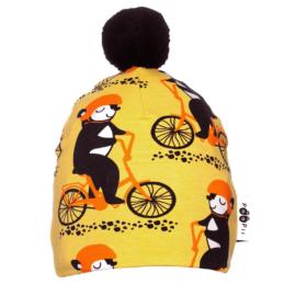 PaaPii Design tupsupipo Into pyöräilee keltainen-oranssi