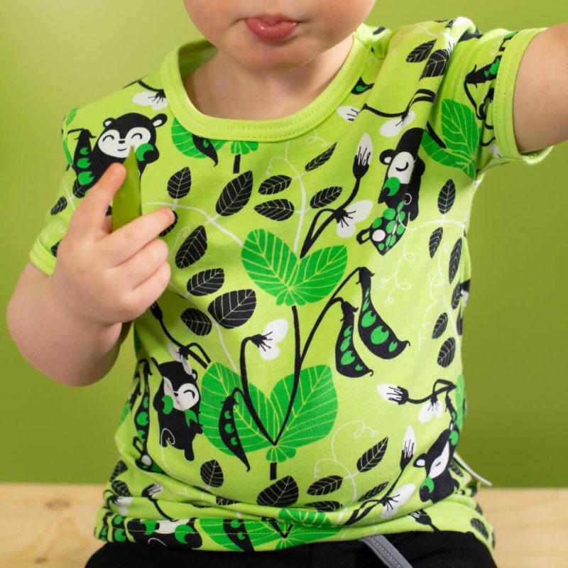 PaaPii Design Visa T-paita Herne omena-vihreä lähi
