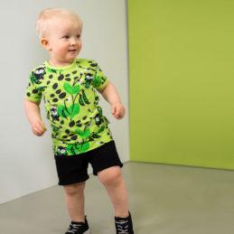 PaaPii Design Visa T-paita Herne omena-vihreä tanssi