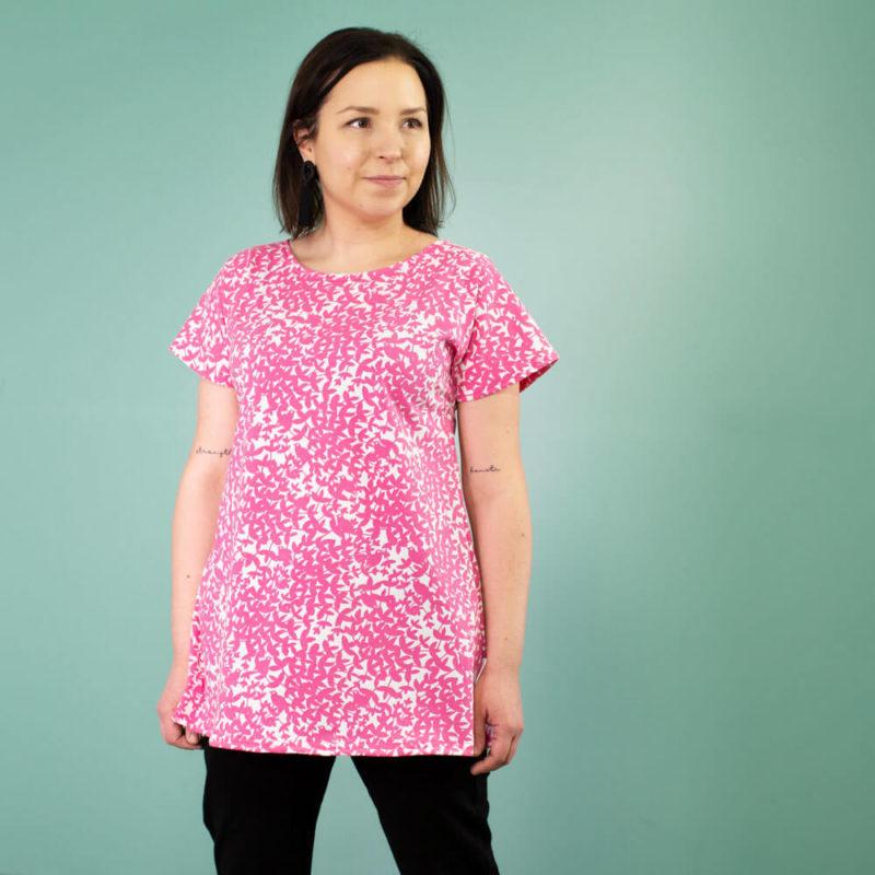 PaaPii Design Vuono T-paita Satakieli pinkki etu