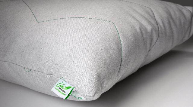 Uni Showroom Greenline tyyny 50x60 cm korkea tukeva nurkka ekologinen harmaa
