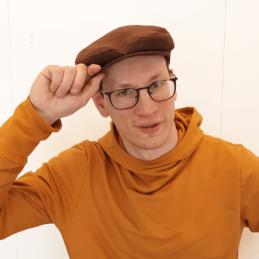 Tella Iivo pellavalakki ruskea hatun nosto