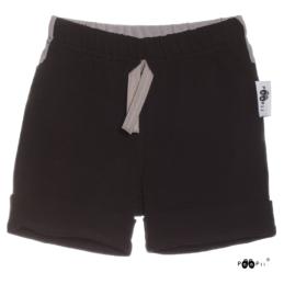 PaaPii Design Tuomi shortsit musta-tummanharmaa edestä
