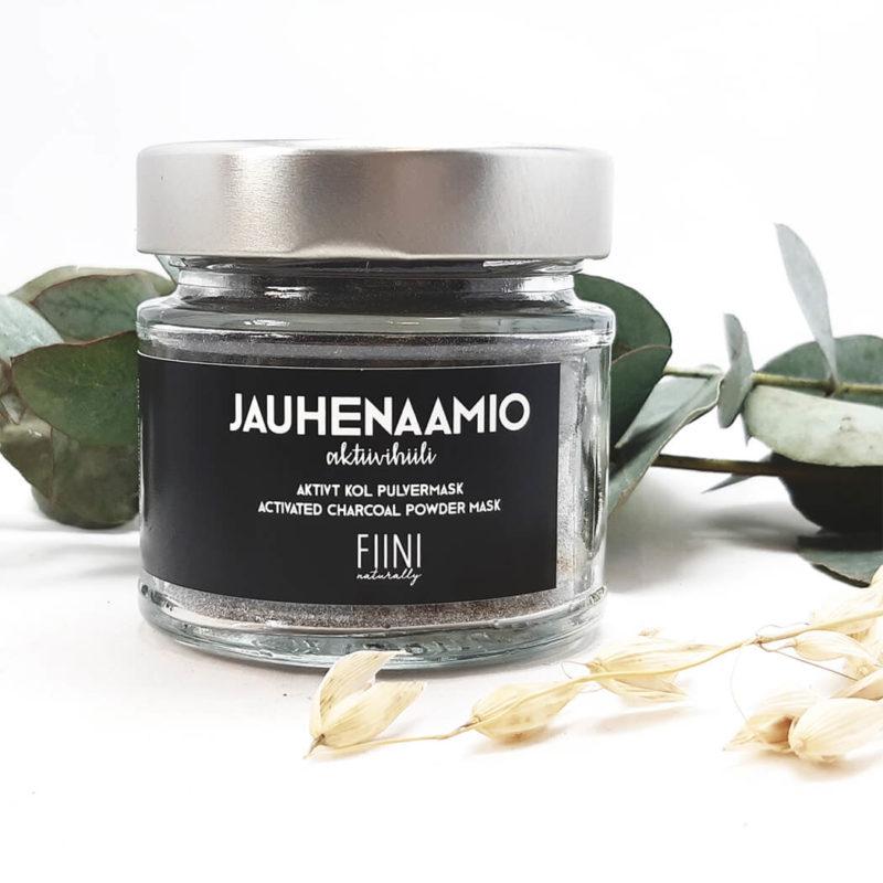 Fiini Naturally Jauhenaamio aktiivihiili 3