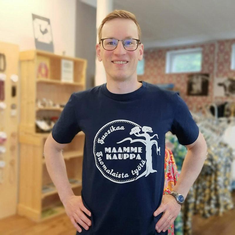 Maammekauppa T-paita Suosikaa suomalaista työtä