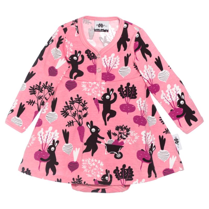 PaaPii Design mekkobody Satotanssi vaaleanpunainen-violetti