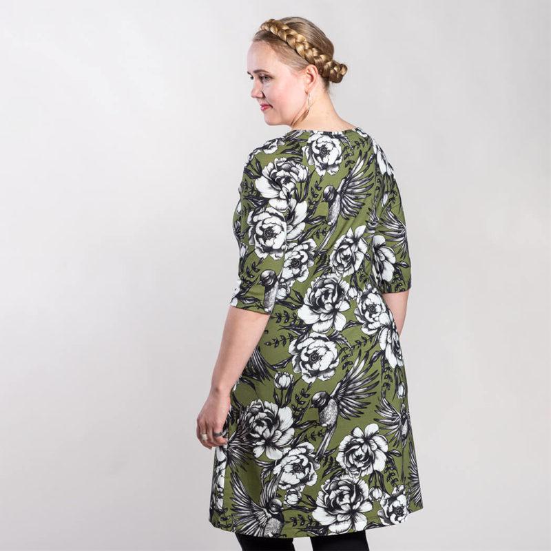 Ehta Marjukka mekko Serenity guacamole 4