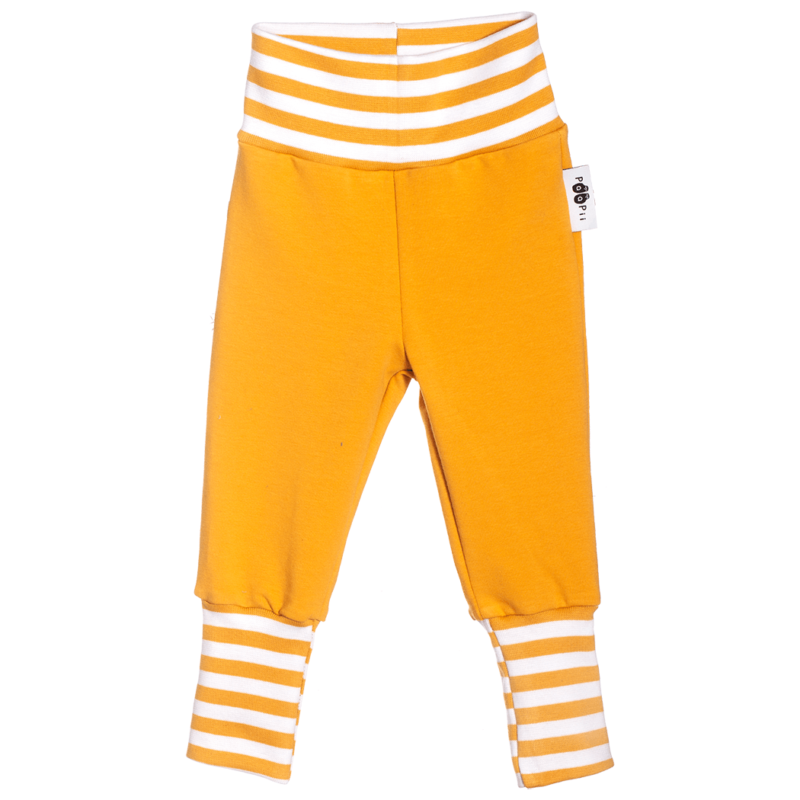 PaaPii Design Baby Sisu vauvan housut okra