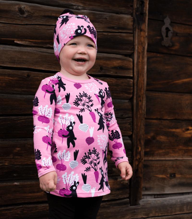PaaPii Design Vieno tunika Satotanssi vaaleanpunainen-violetti 2