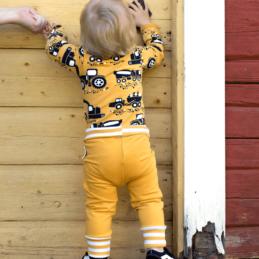 PaaPii Design body Tyokoneet okra ja baby Sisu housut kurkotus