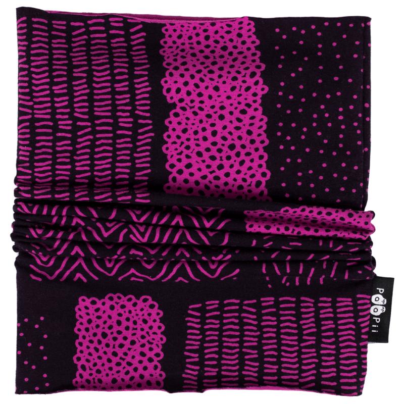 PaaPii Design tuubihuivi Sarka violetti