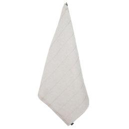 Jokipiin Pellava vappu saunassa laituri kylpypyyhe 75x150 valkoinen-beige