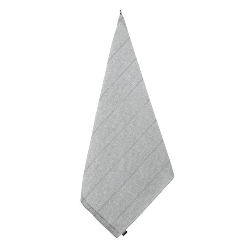 Jokipiin Pellava vappu saunassa laituri kylpypyyhe valkoinen-tummanharmaa