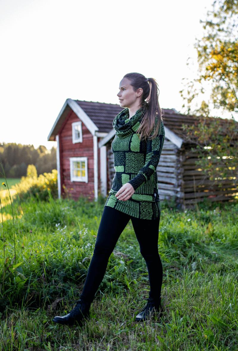 PaaPii Design Halla huppari Sarka metsä 6