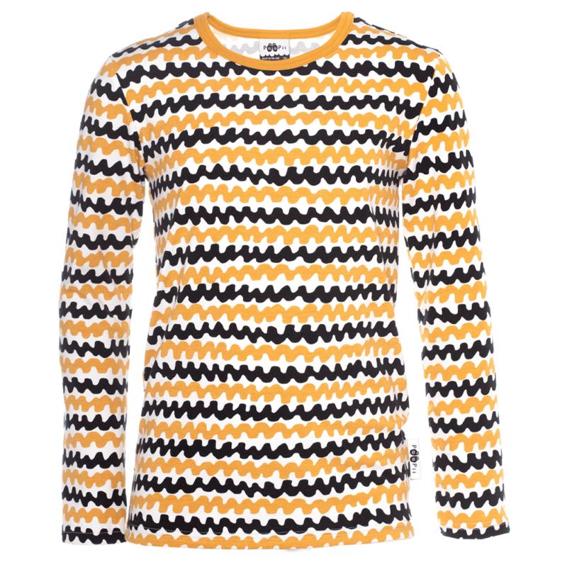 PaaPii Design Nooa paita Haloo okra-musta