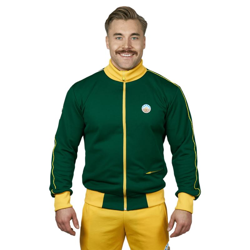 Nousu Supersport verkkatakki vihreä miehet 2