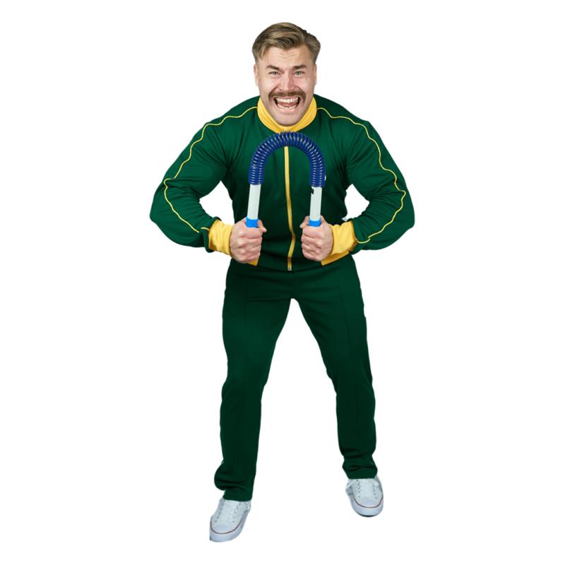 Nousu Supersport verkkatakki vihreä miehet 4