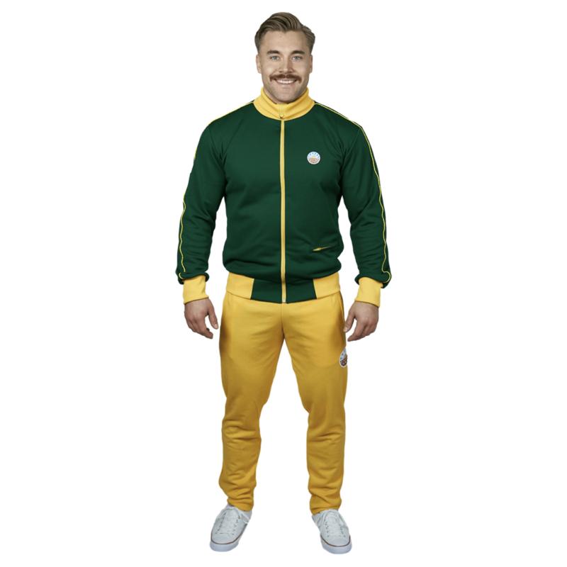 Nousu Supersport verkkatakki vihreä miehet 5