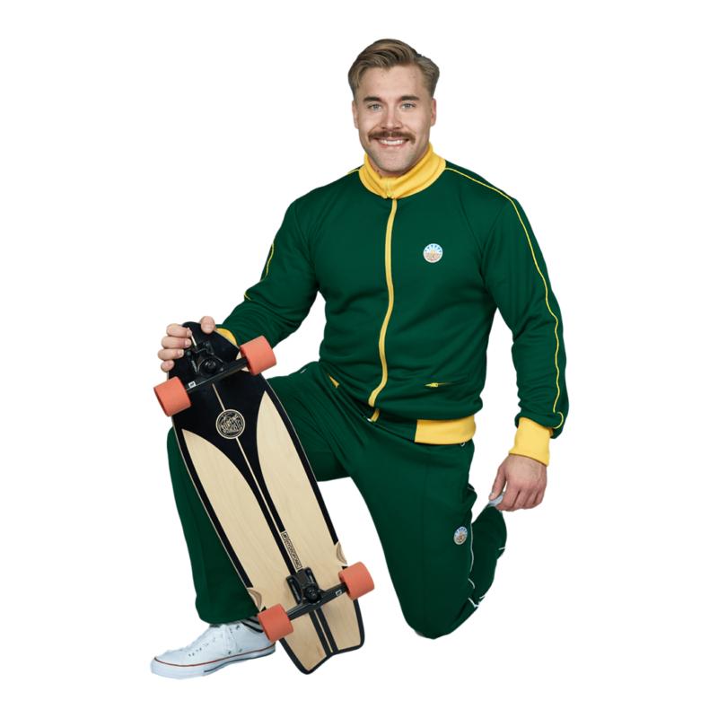 Nousu Supersport verkkatakki vihreä miehet 3