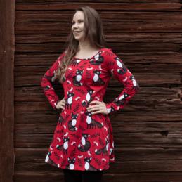 PaaPii Design Sumu tunika Nuutti punainen-ruoste