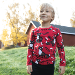 PaaPii Design Uljas paita Nuutti punainen-ruoste