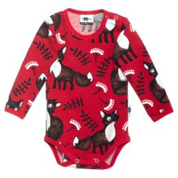 PaaPii Design body Nuutti punainen-ruoste