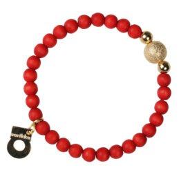 Aarikka Säihke rannekoru punainen