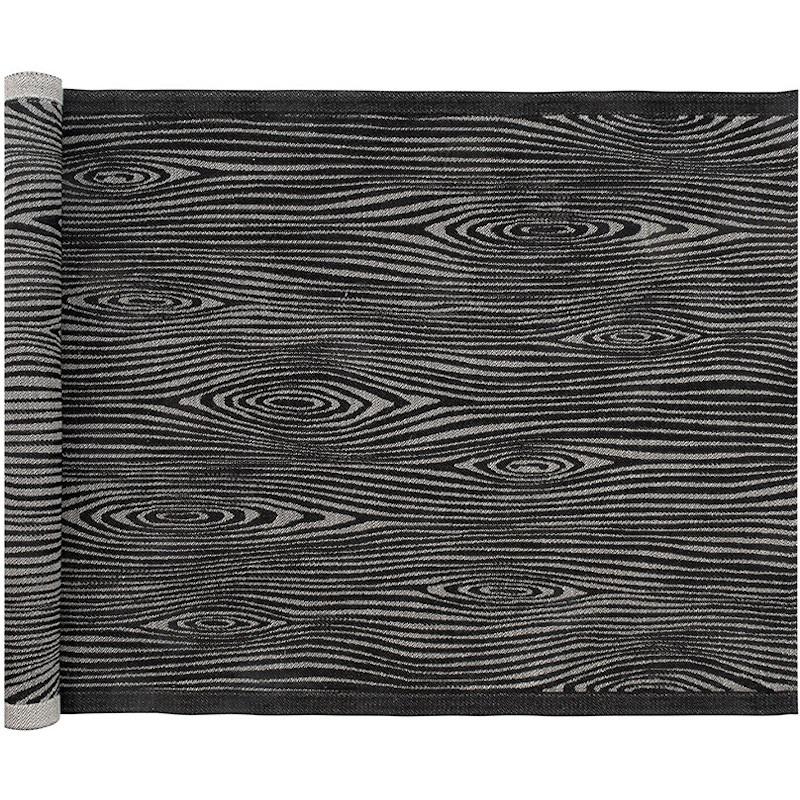 Lapuan Kankurit Viilu laudeliina 48x150cm musta-pellava