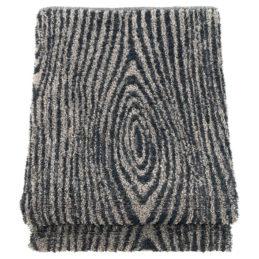 Lapuan Kankurit VIILU pyyhe 80x150cm musta-pellava