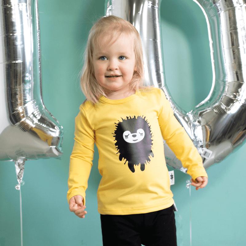 PaaPii Design 10v Uljas paita Siiri keltainen 2
