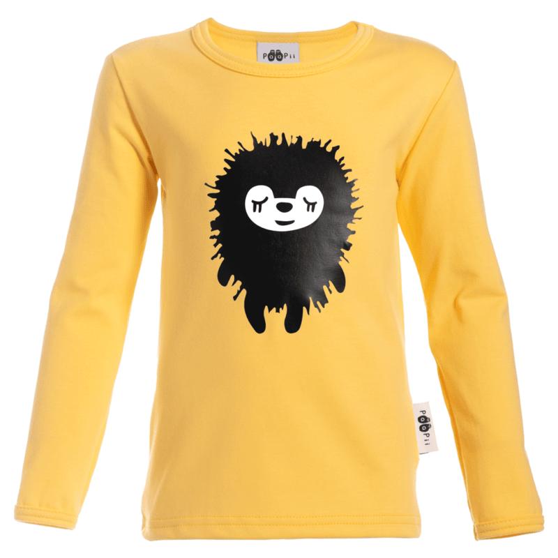 PaaPii Design 10v Uljas paita Siiri keltainen 5