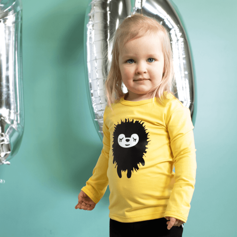 PaaPii Design 10v Uljas paita Siiri keltainen