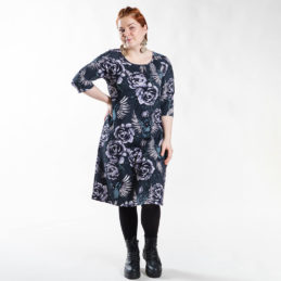 Ehta Marjukka mekko Serenity noki-violetti 9