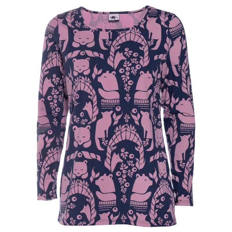 PaaPii Design Aava paita Pohjolan portti lila-mustikka
