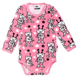 PaaPii Design Body Happy Robots-vaaleanpunainen