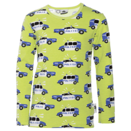 PaaPii Design Nooa paita Poliisi omena-sininen