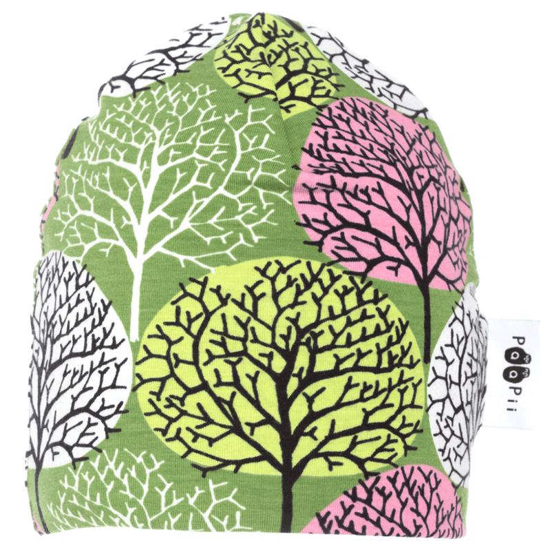 PaaPii Design Pipo Vuodenajat metsä-vaaleanpunainen