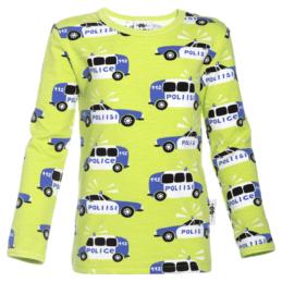 PaaPii Design Uljas paita Poliisi omena-sininen