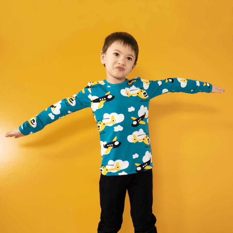 PaaPii Design Uljas paita Propelli petrooli-aurinko 2