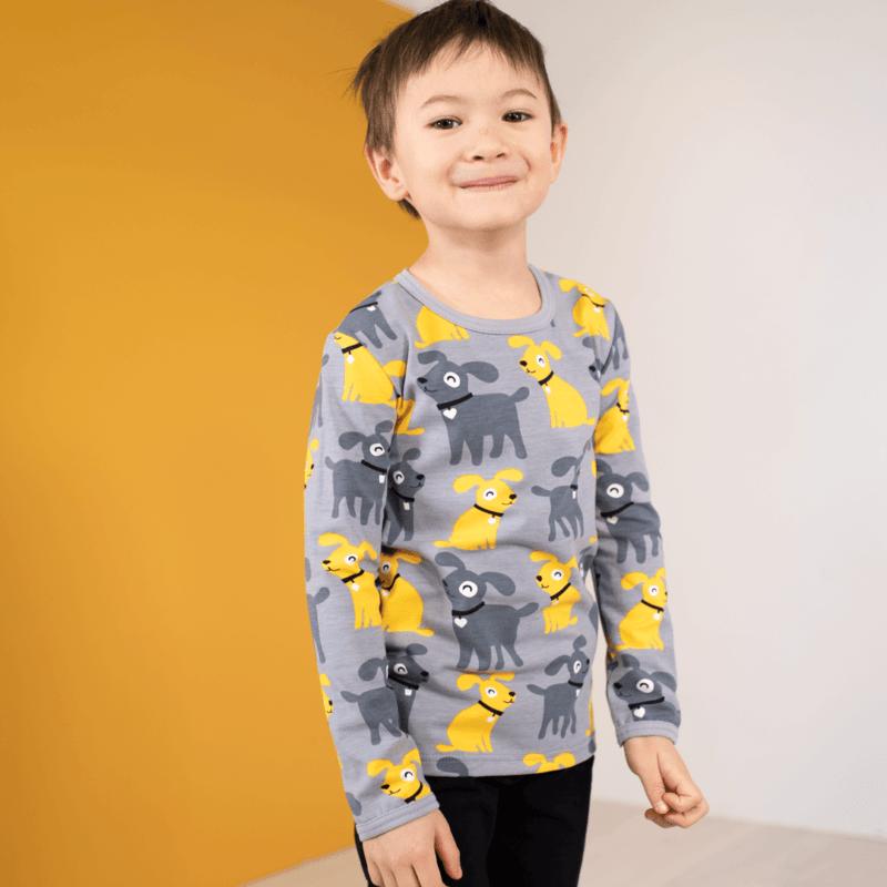 PaaPii Design Uljas paita Sesse harmaa-aurinko 3