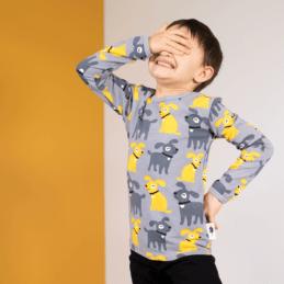 PaaPii Design Uljas paita Sesse harmaa-aurinko 4