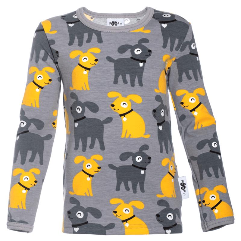 PaaPii Design Uljas paita Sesse harmaa-aurinko